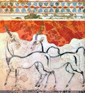 Minoan civilization, Creteantelopes-276x300