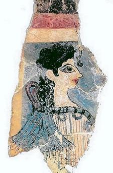 Minoan civilization, CreteMinoan_La_Parisienne_Fresco_Art