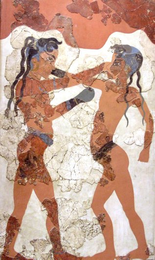 Minoan civilization, CreteNAMA_Akrotiri_2