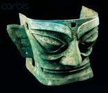 Shang Dynasty Bronze Face Mask